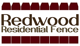 Redwood residential Fences